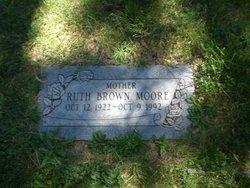 Ruth <I>Brown</I> Moore