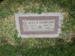 Anna R Thompson
