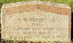 George Willis Barnes, Jr