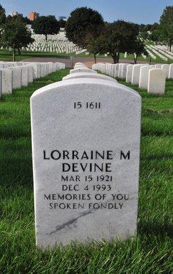 Lorraine M Devine