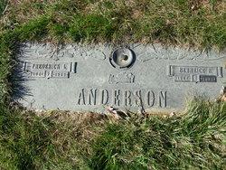 Berneice B Anderson