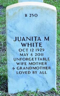 Juanita M White