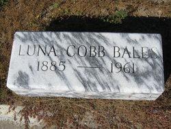 Luna <I>Cobb</I> Bales