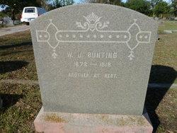 Walter Joseph Bunting