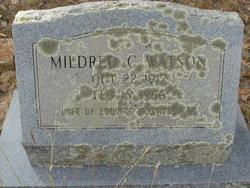 Mildred Frances <I>Chavers</I> Watson