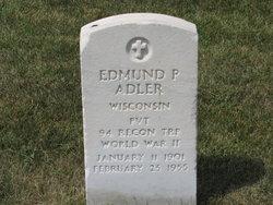 Edmund P Adler