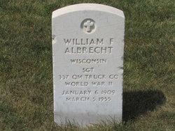 William F Albrecht
