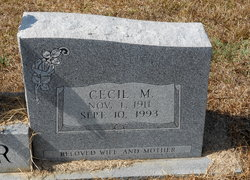 Cecil Marie <I>Melton</I> Walker