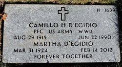 Camillo H D'Egidio