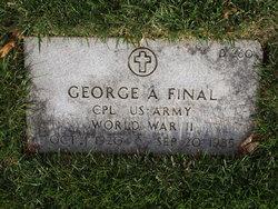 George A Final
