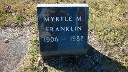 Myrtle M Franklin