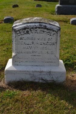 Clara Augusta <I>Biddle</I> Hanson