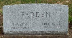 Thusa M. Fadden
