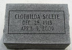 Clothilda <I>Randolph</I> Solete