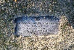 Frank Edmond Foreman