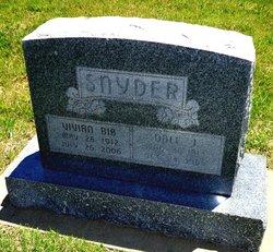 """Vivian O. """"Bib"""" <I>Cecil</I> Snyder"""