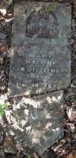 Mary <I>Strickland</I> Streetman