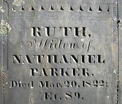 Ruth <I>Shattuck</I> Parker