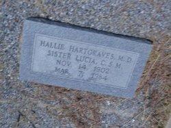 Dr Lucia Hallie Hartgraves
