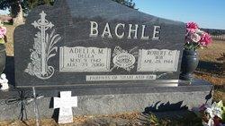 Adella May <I>Burd</I> Bachle