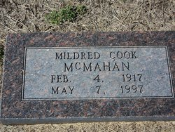 Mildred <I>Cook</I> McMahan