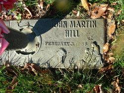 John Martin Hill