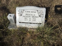 Pricilla <I>Jackson</I> Brown