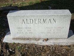 Sara <I>Carlisle</I> Alderman