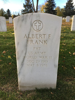 Albert F Frank