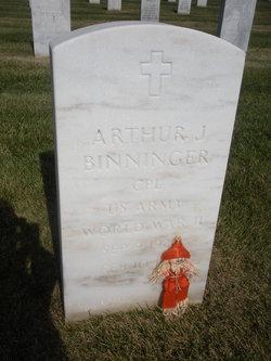 Arthur J Binninger