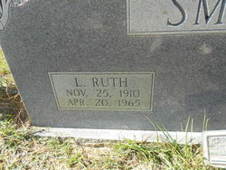 Lelor Ruth <I>Leonard</I> Smith