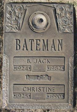 Christine Nona <I>Henry</I> Bateman