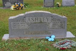 Delia Ann <I>Pruitt</I> Ashley