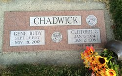 Gene Ruby <I>Paige</I> Chadwick