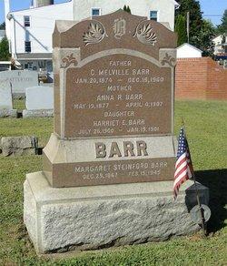 Anna R <I>Patterson</I> Barr