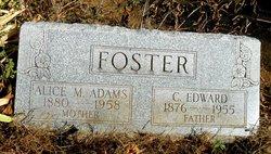 Alice May <I>Adams</I> Foster