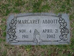 Margaret M. <I>Pergram</I> Abbott
