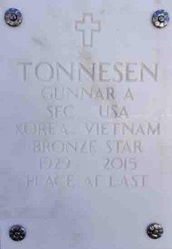 Sgt Gunnar A. Tonnesen