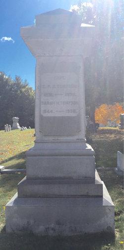 Capt Edward Paine Hayman Thompson