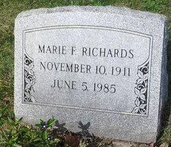 Marie F Richards