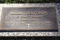 Miriam I. Bertelson
