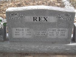 "Evert Worstell ""Pampie"" Rex"
