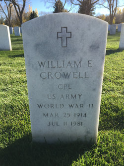 William E Crowell