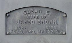 Susan E. <I>Gray</I> Brown