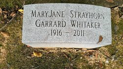 Mary Jane <I>Strayhorn</I> Garrard Whitaker