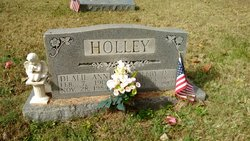 Dealie Ann <I>Miller</I> Holley