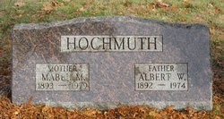 Mabel M. <I>Schwartz</I> Hochmuth