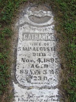 Catherine <I>Weaver</I> Augustine