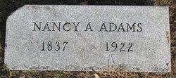 Mrs Nancy Ann <I>Powers</I> Adams