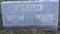 Anna Mary <I>Busby</I> Robinson